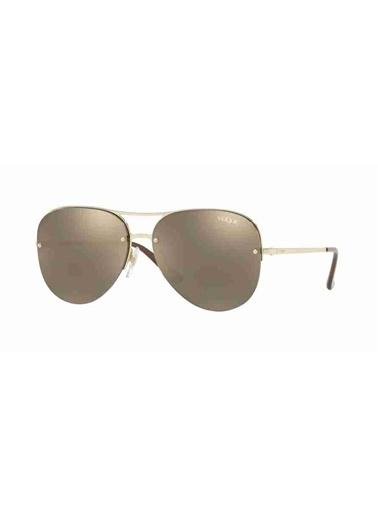 Vogue Vogue 4080S 848/5A 58 Ekartman Kadın Güneş Gözlüğü Altın